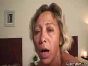 Бабка и негр жестко